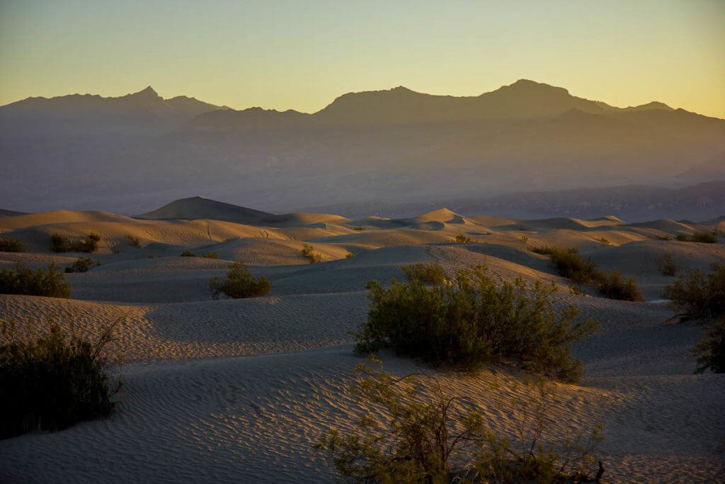 death-valley-sand-dune-sunrise