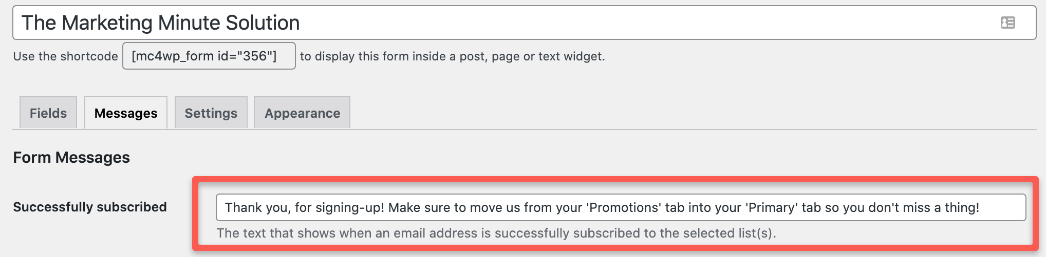 Gmail Promotions and Primary Tab email copywriting tips